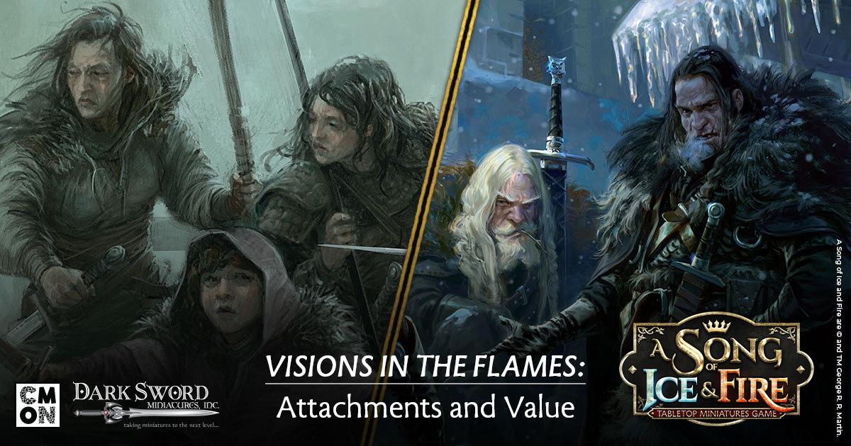 Visions in the Flames: Character attachments