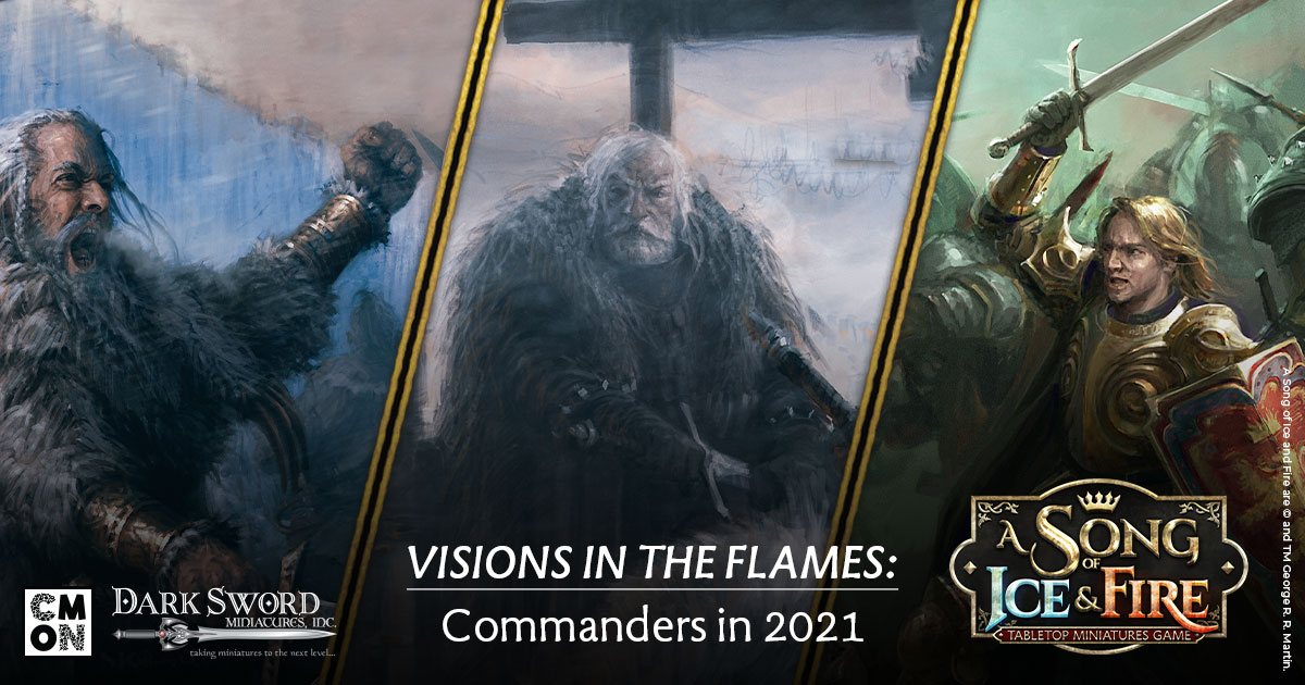 Visions in the Flames: Commanders
