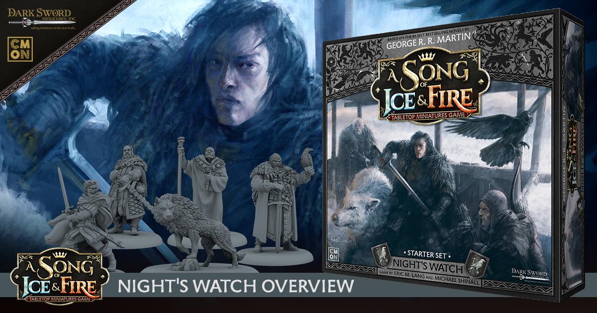 ASOIF: TMG Night's Watch Starter Set - Overview