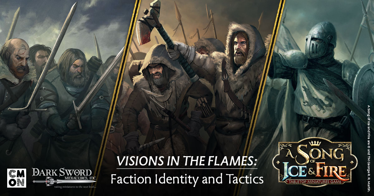 Visions in the Flames: Faction Identities and Cards